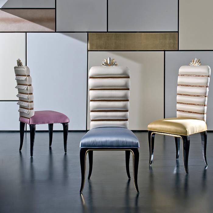 Rozzoni mobili d 39 arte prodotti for Sedie particolari